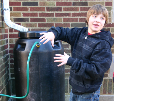They also installed 40 rain barrels across the community, educating residents about the importance of water conservation and stormwater management.